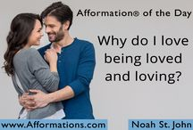 """AFFORMATION® of the Day / You've heard of """"affirmations""""... but have you heard of AFFORMATIONS®? AFFORMATIONS are empowering questions that instantly change your subconscious thought patterns... Learn more at Afformations.com"""