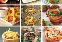 Food in a Muffin Tin