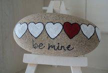 pebbles and stones - Hearts / by Nina Golianova