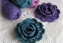 Crochet - flowers / by kerry hughes