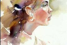 Watercolor by Janet Rogers
