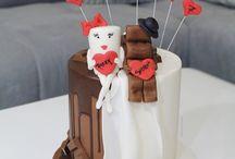 Milky und Schoki Torte Hochzeitstorte