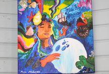 Blue Art by Fairychamber