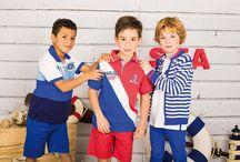 Colección Welcome on Board SS16 / Inspiración #marinera y combinación de rojos, azules y blancos en esta colección primaveral