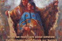 indianer citat/måla