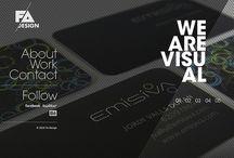Design portfolio inspiration