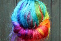 Hair that rocks! - Brightly coloured hair