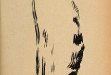 Art peinture chats / Chats (Aquarelles, dessins, pastels...)