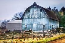 Barns(4) / by rhonda davis
