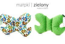 Motyle / Poduszki Motylek dla dzieci