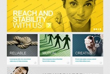 A collection of templates at which you must have a look! / by FlashMint - Flash Website Templates