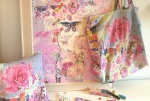 Rosa e Turchese creazioni handmade