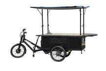 Gastrorad / Die verschiedensten Gastroideen lassen sich auch mit einem Lastenrad umsetzen: als Kaffeerad, fahrbare Creperie oder als mobiler Marktstand