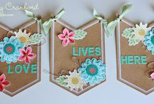 Stampin up flower patch