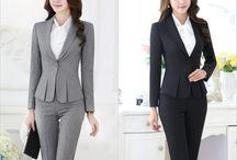 trajes sastre para dama