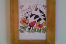 My stitching projects / All my completed stitching projects
