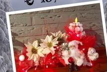Handmade kerst decoratie / Handmade keretdeco