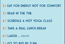 Wellness / Stuff to do