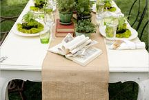 Emily's bridal shower / Green green green / by Bex Somma