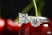 Solitaire Engagement Rings / Solitaire engaement rings can make a stunning statement or a daring declaration. A wide selection of solitaire diamond rings - a single diamond in a simple setting! Solitaire Diamond Settings are not so Simple or Ordinary Anymore! http://bit.ly/MsTxsD / by Whiteflash Diamonds