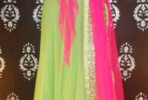 Ghagra's And Anarkali's