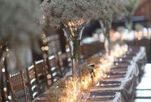 Wedding table settings / Wedding, dinner, setup,