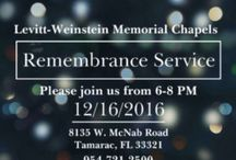 Holiday Remembrance Service