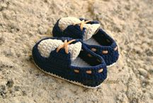 Cipők horgolt