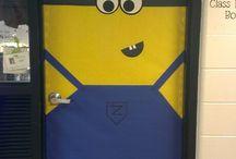 Classroom doors
