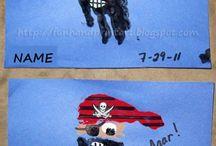 pirates and ocean  / by Amanda Thorley