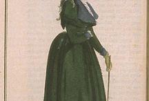 18th century: Redingote