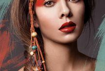 Indiaan make up