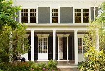 Fachadas de Casas Americanas