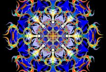 Maṇḍalas / A collection of Mandalas from the internet.