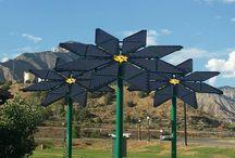 Művészet / Kreatív, ötletes, design installációk, melyek a művészet útján hirdetik az energiatudatosságot, a zöld energia használatának fontosságát.