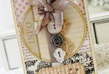 Cards - Valentine, love cards, tags, atc's / by Linda Spray
