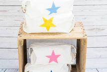 Upcycled Sailcloth Star Washbag