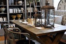 Столы и столешницы из древесины