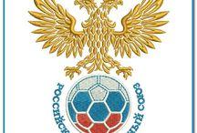 National Football Team Logo Embroidery Design