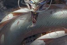 Dragons, wyverns, e.t.c