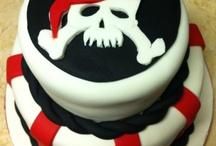 Lucas' pirate cake