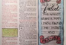 Simple Bible Journaling / For those with few art supplies (or no talent, like me)