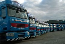 Alfred Hymas / Vehicles supplied by Thompson Commercials Ltd to Alfred Hymas Ltd