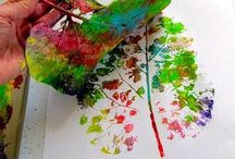 Crafts with Kids / A selection of crafts you can do with your little ones or use as crafty inspiration for future projects
