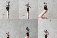 grey Mouse Pencil crochet / https://m.youtube.com/channel/UCMq9r5fd2d1lUrtbAfZJ6sA/videos Www.etsy.com/shop/asiashopgifts  Www.facebook.com/asiashopgifts  www.pinterest.com/asiashopgifts www.instagram.com/asiashopgifts https://plus.google.com/+TrâmVũVươngMai