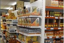 Shopfittings Retail Store Displays-Shop shelving - shop display ideas - wall shelving - retail shelving display / Shopfittings Retail Store Displays - wall shelving- end units - gondola shelving