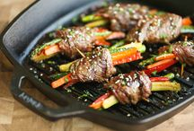 Summertime and the grilling's easy / by Lizzy Hazel