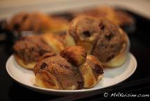 Boulangerie / Bakerie / Pour le goûter ou le petit-déjeuner / For snack or breakfast