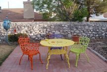 Outdoor Areas / Patio Furniture and other outdoor things  that I love!