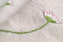 florcita con tallo.bordada